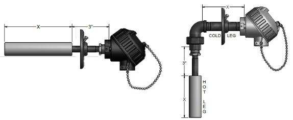 热电偶组件图
